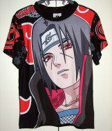 חולצה נארוטו Naruto [שחור] *אזל המלאי*
