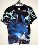 חולצה בלאק רוק שוטר Black★Rock Shooter [שחור]